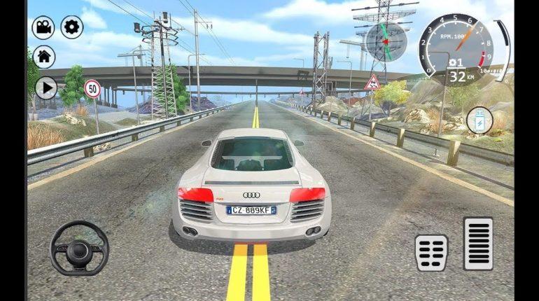 Drift Simulator Audi R8 Sports / Car Racing Games / Android Gamep...
