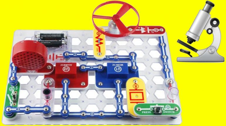 Learn How To Make Electronics With The Snap Circuit Junior  Fu...