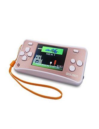 "WOLSEN 2.5"" Color Portable Handheld Game Console w/152 Games &"