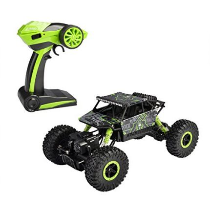 hapinic RC Car 4WD 2.4Ghz 1/18 Crawlers Off Road Vehicle Toy