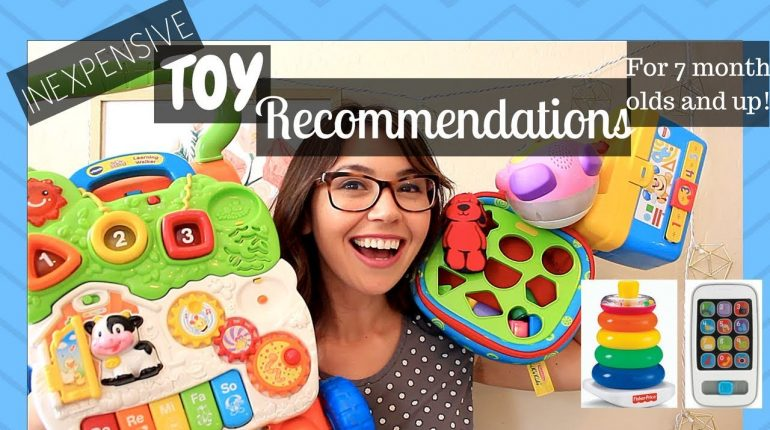 Baby and Toddler Toy Recommendations| Inexpensive Toys