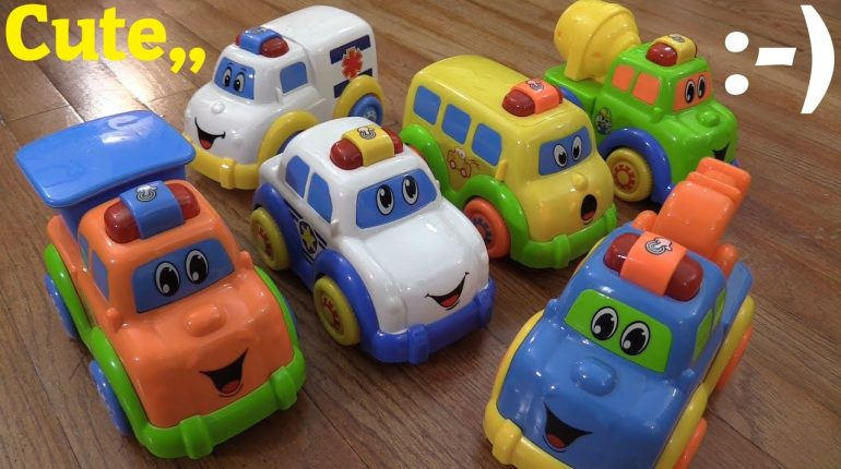 Baby and Toddler's Toys: Motion Sensor Toy Vehicles - Police Car,...