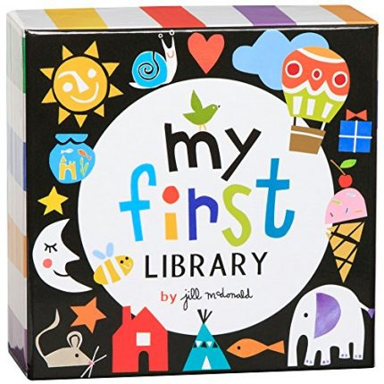 C.R. Gibson My First Library Set for Newborns and Babies,