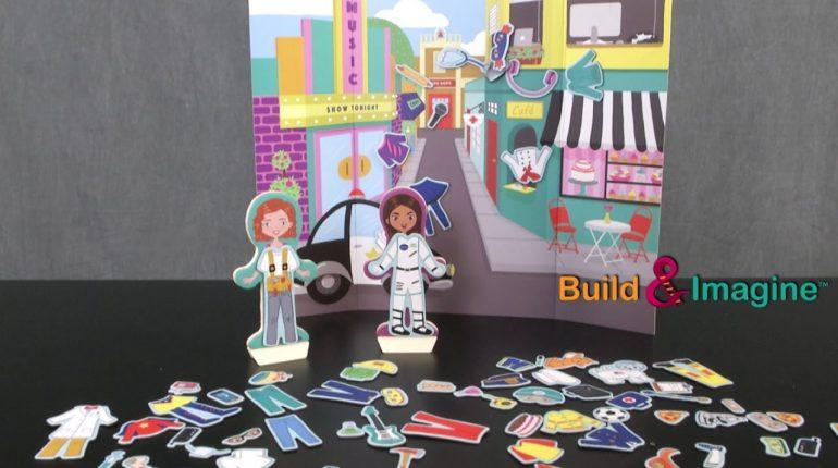 Career Dolls from Build & Imagine