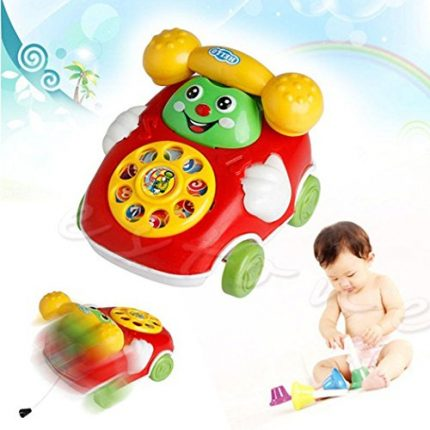Etuoji Baby Toys Cartoon Car Phone Kids Educational Development
