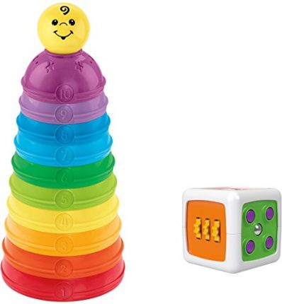Fisher-Price Infant Activity Gift Set Baby Toy, Multicolor