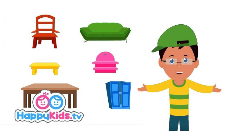 Furniture - Learning Songs Collection For Kids And Children | Bab...