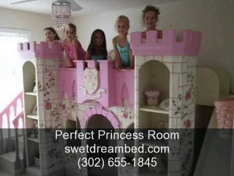 Girls Castle Bed Girls Princess Room Kids Furniture
