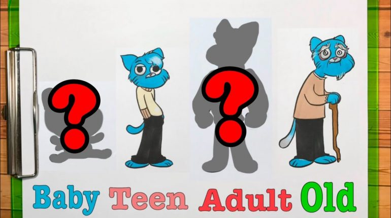 Gumball Characters Grown Up Evolution