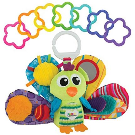 LAMAZE - Jacque the Peacock Gift Set, Support Baby's Development