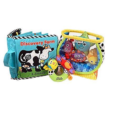 Lamaze Baby Toys Bundle #2 - Award Winning Set of 3. Fish Bowl,