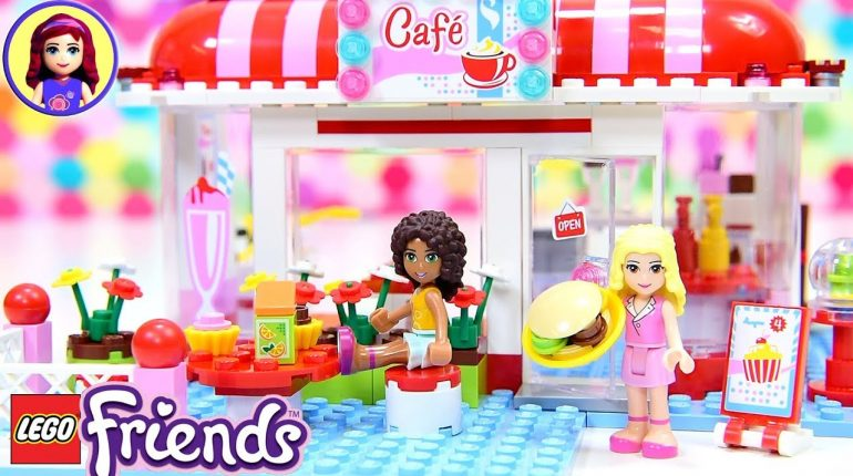 Lego Friends Heartlake City Cafe Build Review Silly Play Kids Toy...