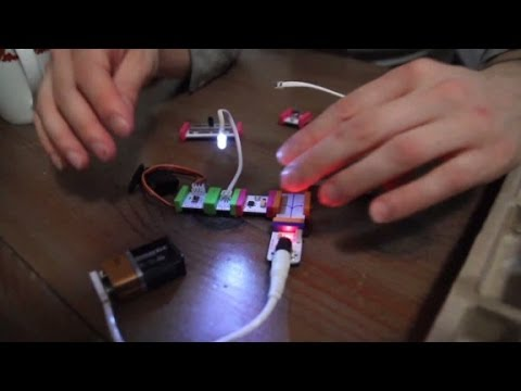 Magnetic electronics let kids build toys