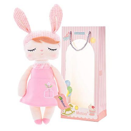 """Me Too Baby Girl Gifts Baby Dolls Bunny Plush Rabbit Toys 13"""""""