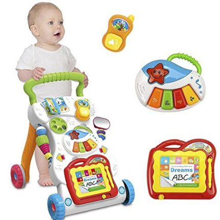 Music baby baby walker baby first step car baby trolley