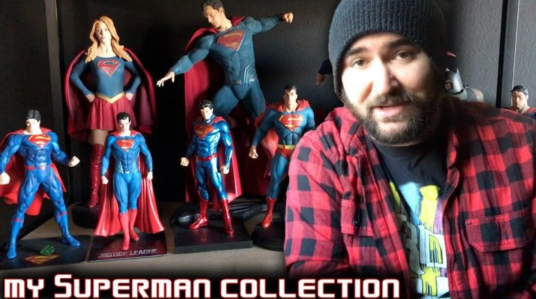 My Superman Collection: Statues, Action Figures, Vinyl Records & ...