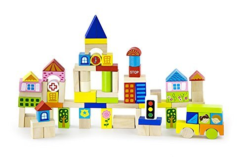 Original Toy Kids Children City Blocks
