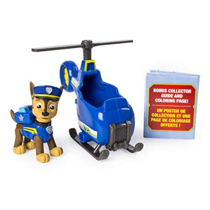PAW Patrol Ultimate Rescue Chase's Mini Helicopter with