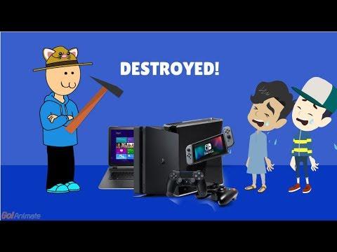 Parents Destroys Kids Electronics Compilation #1