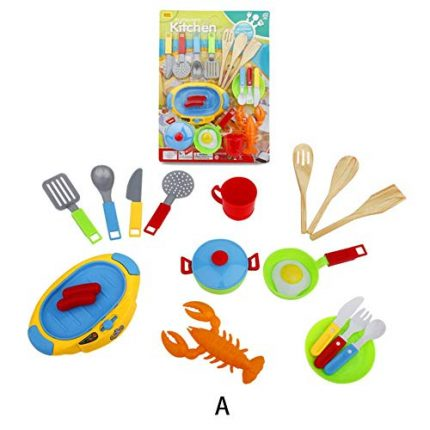 Per Newly Play House Toy Children's Kitchen Tableware Play House