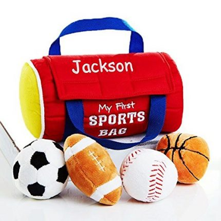 Personalized My First Playset for Baby (My First Sportsbag