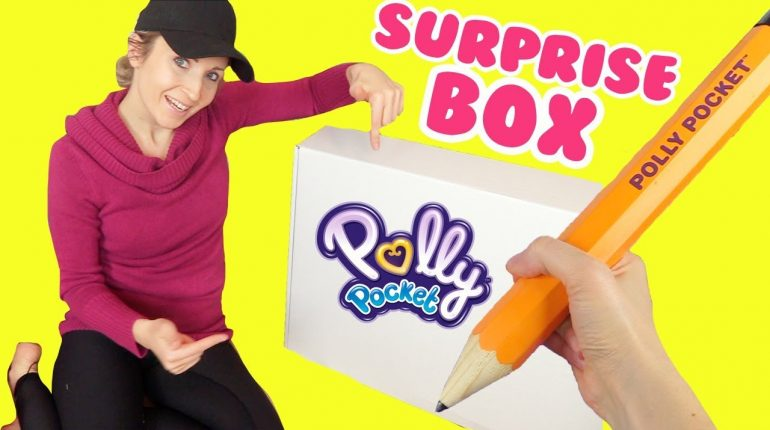 Polly Pocket 2018 SURPRISE TOY BOX Opening!!! Go Tiny Room + Poll...