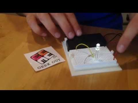 Project Genius Light hands-on electronics for kids