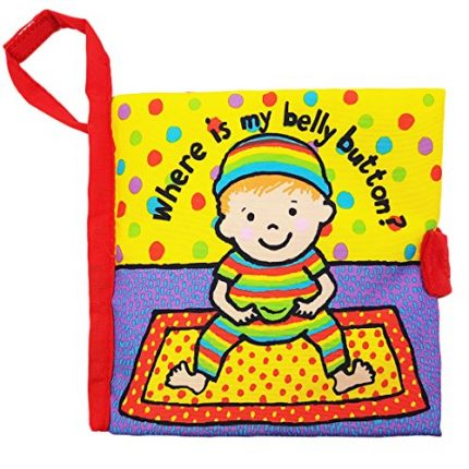Rolina Baby Soft Cloth Book Bedtime Educational Toys(Where is My