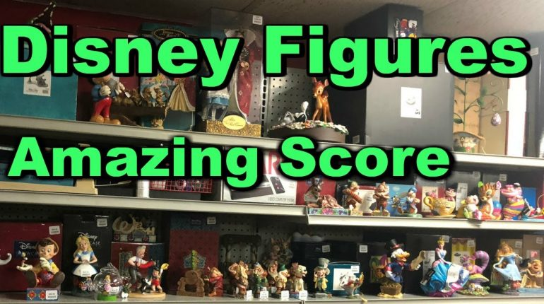 Storage Wars Amazing Disney Figure Find Statues Mickey Mouse MUST...