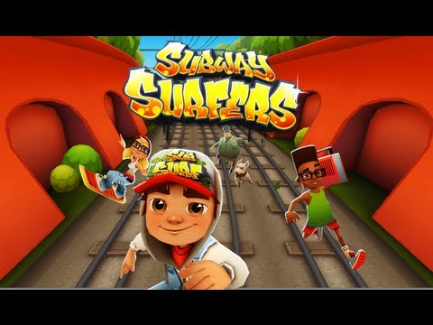 Subway Surfers - Gameplay Trailer - Free Game Review for iPhone/i...