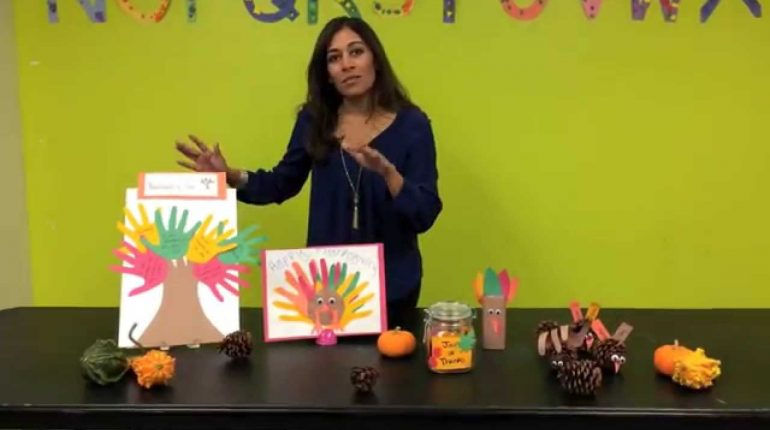Thanksgiving Themed Arts & Crafts For Kids