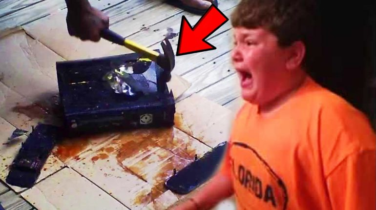 Top 5 Parents Who DESTROYED Their Kids Electronics! (KIDS GO CRAZ...