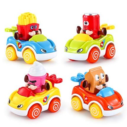 VATOS Car Toys for Baby 1-2 Year Old Boys & Girls, Cars for