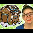 Winter Crafts! How to Make a Gingerbread House - Arts & Crafts (C...